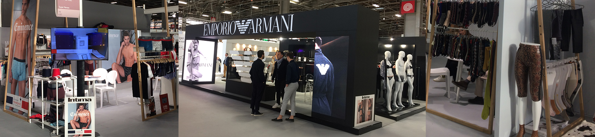 Salon International de la Lingerie - Paris 2019 Emporio Armani, Eminence