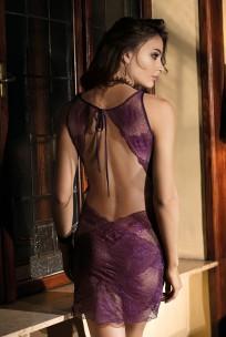 Sexy nightdress sleeveslace made of lace