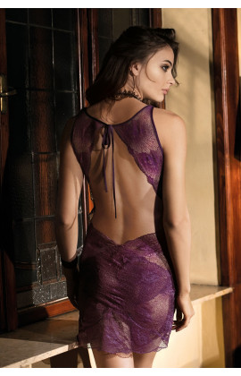 Sexy nightdress sleeveslace Gia made of lace
