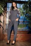Pyjama Darcia 2 pieces long sleeves round neckline