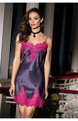 Nightdress corset lacing thin strapes and lace