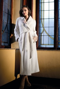 Maxi length dressing-gown / bathrobe