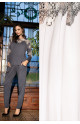 Pyjama Darcia 2 pièces manches longues col rond