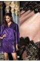 Déshabillé Violetta forme kimono court noué