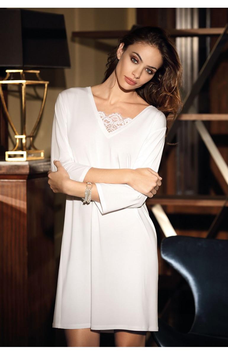 Nightdress Angelina élégante 7/8 sleeve, lace