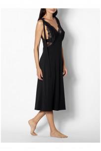 Ärmelloses Nachthemd mit tiefem Ausschnitt - Reihe Gisele auf coemi-lingerie
