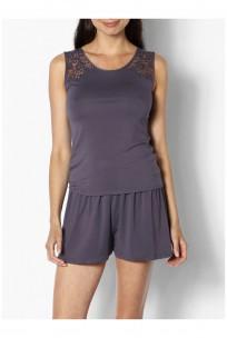Two-piece sleeveless top and shorts nightset - Gigi range