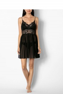 Babydoll with thin straps and plunging backline - Starla range