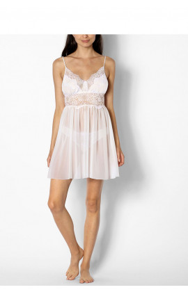 Babydoll with thin straps and plunging backline