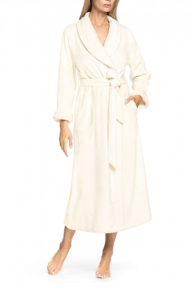 Robe with lapel collar - Wellness range