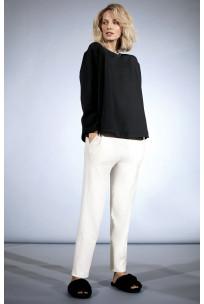 Loose-fit straight-cut track pants. Coemi Studio