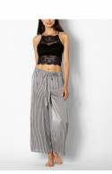 Striped culotte