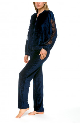 2-piece lounge set in a blend of warm and cosy, velvety bamboo fibre - Coemi-lingerie