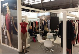 Coemi était présent sur le Salon International de la lingerie à Paris